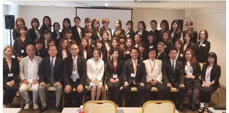 一般社団法人日本まつ毛エクステンション認定機構 総会の様子